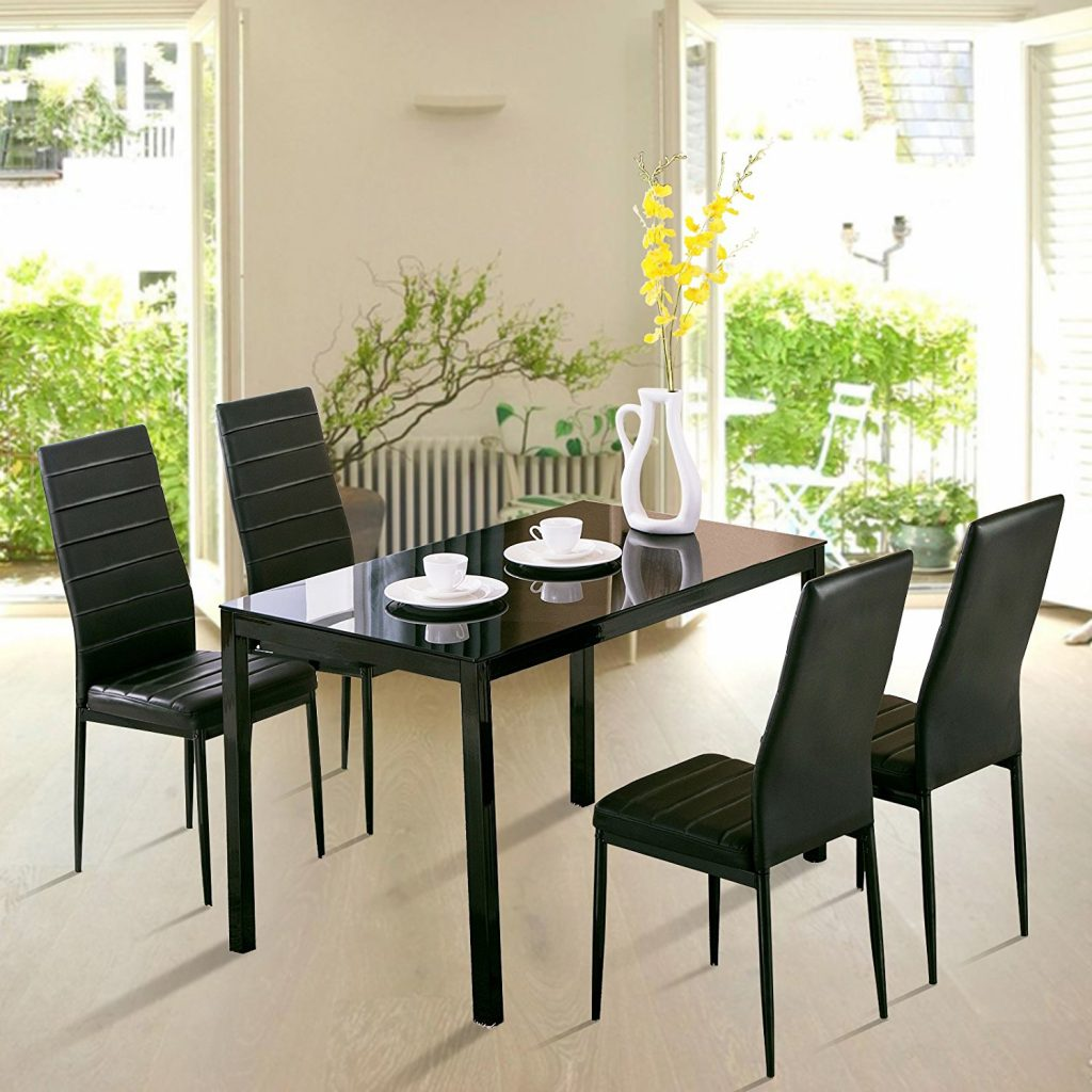 Glass Table And Chair Set – Kims Warehouse