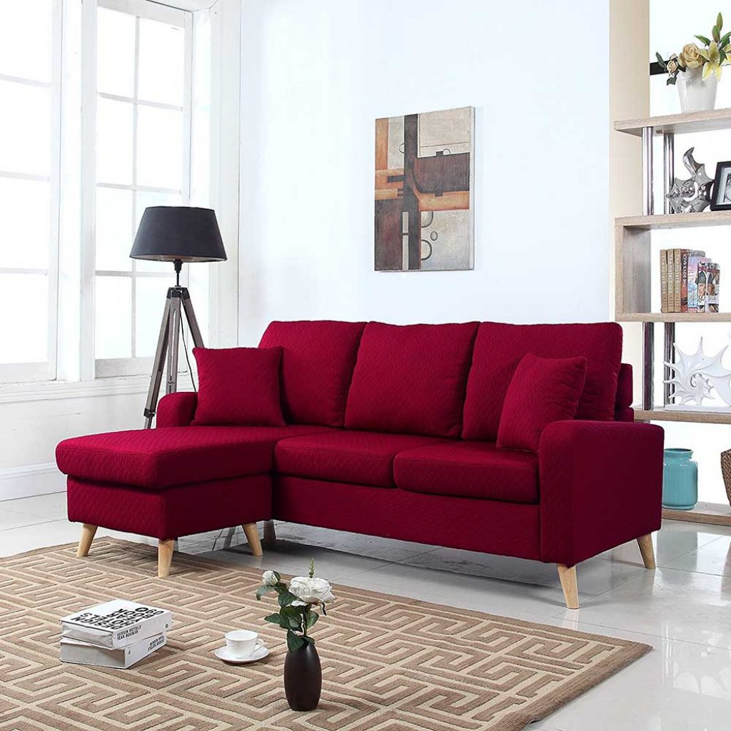 Small space configurable sectional allowing to position chaise on either end u2013 Perfect for small apartments of studios : sofa w chaise - Sectionals, Sofas & Couches